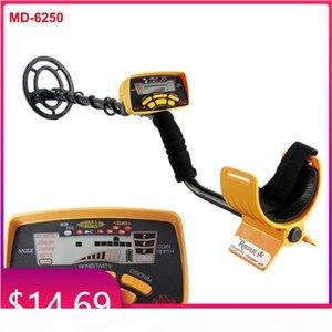 MD-6250 detector de metal detector de ouro detector de ouro comprimento ajustável buscador de tesouro portátil