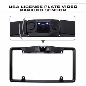 American Car Camera License Plate Frame License Plate Holder Practical Multifunctional Camera