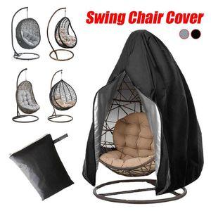 Waterproof Balcony Furniture Cover Hanging Swing Chair Protective Cover Outdoor Garden Furniture Garden Swing Home cocina