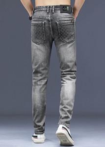 2021 hommes en détresse déchiré skinny jeans designer slim-jambe jeans business classique hommes denim pantalon hip hop jeans pantalons jeans taille 28-38