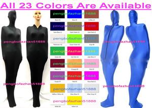 Unisex Sleepsacks Body Bags Sexy 22 Colow Lycra Spandex Sleeping Bags Mummy Suit Costumes With internal Arm Sleeves Sleeping Bags P435