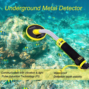 Pi-iking 750 30m Targeting Pinpointer Pulse Induction (PI) Underwater Metal Detector Waterproof Vibrator with LED Light