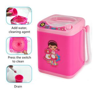 Hot 3D mink eyelash Mini Makeup Brush Cleaner Device Mini Brush Automatic Washing Machine Eyelashes Washer For Make Up
