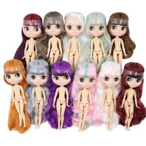 Fábrica Blyth Middie Boneca 1/8 BJD 20cm Factor Matte Body Body Bonito Brinquedo Girl Gift F1216