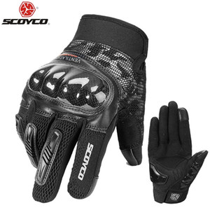 SCOYCO Motorcycle Gloves Summer Racing Guantes Outdoor Sports Protection Electric Bicycle Riding Cross Dirt Bike Gants