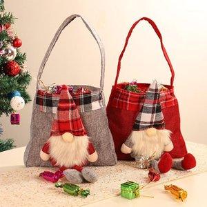 Рождественские украшения Санта-Клаус Сумка Сумки Candy Marry Bags1