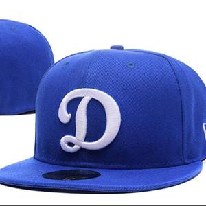 2020 1 Pz Mix Order Tutte le squadre American Men's Bitted Baseball Hats Caps Snapback
