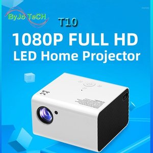 Unic T10 LED Full HD 1080P Proiettore 4000 Lumens Home Theater Beamer Android Android PROYCTORT USB Video Cinema T6 UP1