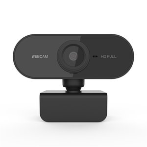 HD 1080P Webcam Mini Computer PC WebCamera with Microphone Rotatable Cameras for Live Broadcast Video Calling Conference Work OTTIE