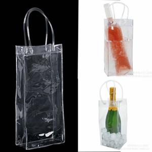Bag Gift Wine Beer Champagne Bucket Drink Ice Bag Bottle Cooler Chiller Foldable Carrier Favor Gift Festival Bags Z493