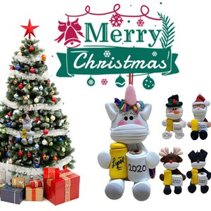 2020 Christmas Decoration Personalized Christmas Tree Hanging Pendants Animal Toilet Paper Ornament Party Christmas Gift NEW