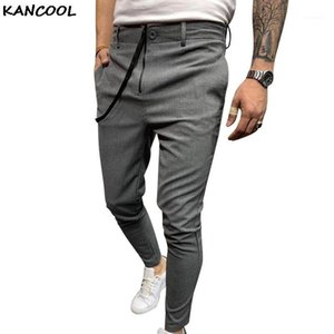 KANCOOL Streetwear Solid Harem Pants Causual Bussiness Pants With String Casual Slim Jogger Men Hip Hop Trousers1