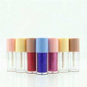 2ml Empty Lip Gloss Tube,DIY Round Portable Liquid Lipstick Bottle Clear Lip Gloss Bottle Lipgloss Tubes F3972