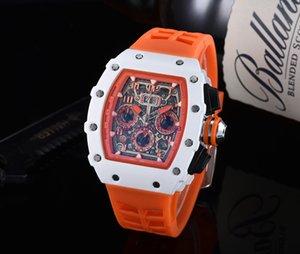 Homens 2020 Top Quality Mens Relógios Montre Homme Silicone Quartz Relógios Homem Moda À Prova D 'Água Esportes Luxo Homens Relógios Reloj Hombre