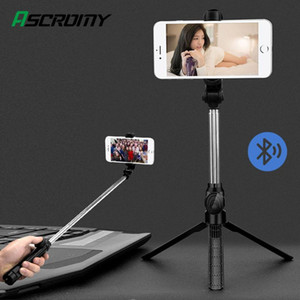 Portable Wireless SelfieStick For HUAWEI Smartphone Handheld Monopod Tripod With Remote Control