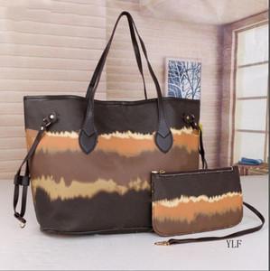 Ücretsiz Kargo 2021 Yeni Renk Çanta Büyük Kapasiteli Moda Deri Çanta Kadın Tote Omuz Çantaları Lady Deri Çanta Çanta Çanta 6 Col