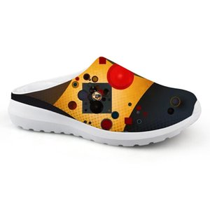 Fashional Flat Sandals Casual Comfortable Summer Slippers House Beach Water Shoes For Wassily Kandinsky Master Piece