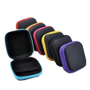 Headphone Case Pu Leather Earbuds Pouch Mini Zipper Earphone Box Protective Usb Cable Organizer Fidget Spinner S wmtKXW sports2010