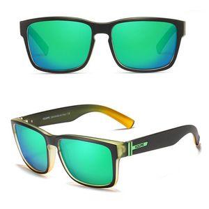 Kdeam Square Polarized Sonnenbrille Männer Sportstil Revampe Sonnenbrille1