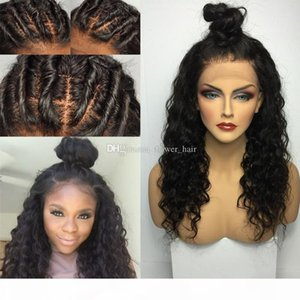 Glueless Silk Base Top Full Lace Wig Brazilin Virgin Hair Curly Human Hair Wigs Lace Front Wigs Bleached Knots Baby Hair in stock