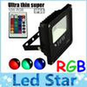 rgb led flood lights outdoor lighting 10w 20w 30w 50w led flood lights landscape lighting ac 110-240v + 1.2 power cable + power plug