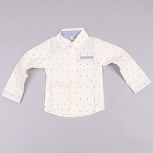Clearance sale Fashion Printed Shirts Boy T-shirt With Collar Kids Casual Tops Children Wear Long Sleeve T Shirts Z167