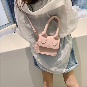 2020 New Arrival Cute Korean Version Fashion Single-shoulder Bag PU Leather Phone Coin Bag New Trend Handbag Crossbody Bag