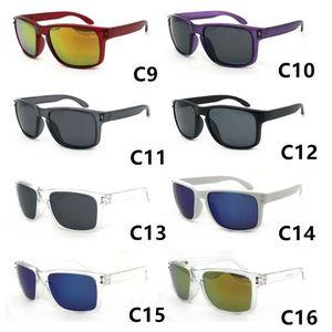 الرجعية الساخنة النظارات الشمسية الرجال العلامة التجارية مصمم ساحة مرآة عدسة نظارات الشمس للجنسين كلاسيكي نمط للنساء uv400 حماية عدسة موك 12 زوجا