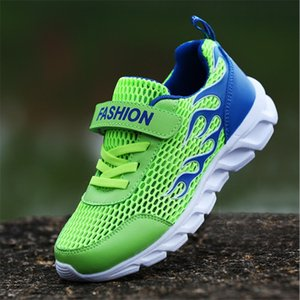 Hot 2020 Summer Kids Shoes For Boys Children Sport Shoes Mesh Fashion Kids Sneakers Breathable Comfortable Boys Sneakers