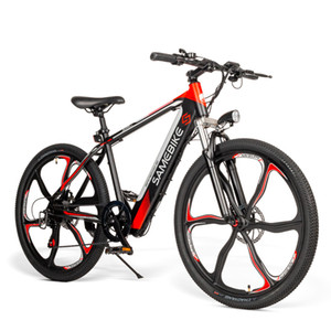 "26"" Adults Electric Bicycle Electric Mountain Bike 350W with Removable 36V 8Ah Battery Full Throttle Pedal Assist City Ebike"