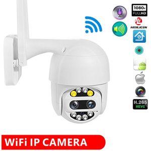 WIFI Camera Outdoor PTZ IP Camera H.265X 1080p Speed Dome CCTV Security Cameras IP Exterior 2MP IR YCC365 App Hikvision