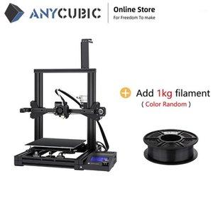 Принтеры Anycubic 3D-принтер Mega Zero Double Techn Equeruder Печатка Нить Быстрый запуск Высокая точность Легкая Выравнивание для DIY Design1