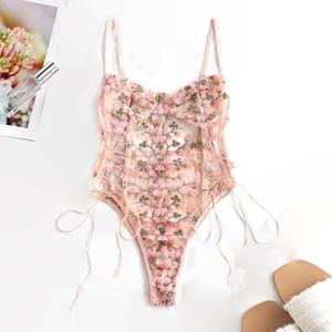 Soutien à la lingerie Sexy Bra erotique Corset érotique Mesh Sleepwear Nightwear Nightwear Pajamas Pajamas Sous-vêtements Femmes Set