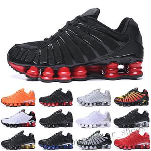 Nike Air Max Shox TL13 Running Shoes OZ NZ R4 1308 argila Black Orange Triplo azul de prata metálico do Sunrise Universidade Red branco dos homens T6 treinadores desportivos