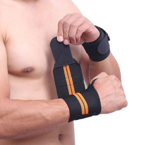 Polso Brace Poll Supporto Peso Sollevamento Gym Gym Training Support Cinghie Wraps CrossFit Powerlifting Sicurezza sportiva