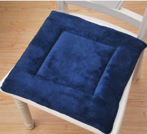 Manufacturers wholesale flanges chair seat cushions thickening plush cushion office car with winter sofa dining chair mat