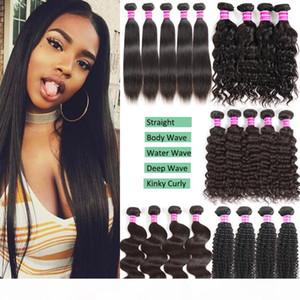 Brazilian Virgin Human Hair Bundles Body Wave Deep Wave Kinky Curly Cheap Remy Human Hair Extensions Unprocessed Virgin Hair Bundle Deals
