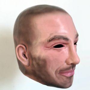 Завод Бесплатная доставка Хэллоуин косплей известный человек Дэвид Бекхэм Латексная вечеринка настоящая человеческое лицо Cool Realistic Mask T819061
