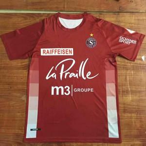 2020 2021 Servadera FC Soccer Jerseys 20 21 Camisa de fútbol en casa Switzerland Club Servette Men Uniform Maillot de Futol Camiseta