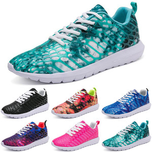 2020 men running shoes Athletic black white outdoor cushion breathable mens trainers sports sneakers runners size 40-44 color15