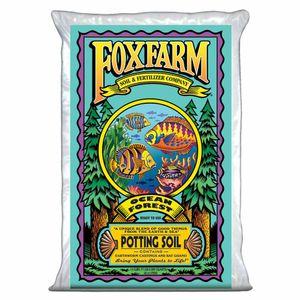 FoxFarm FX14000 Ocean Forest Plant Garden Potting Soil Mix 1.5 cu ft, 40 Pounds