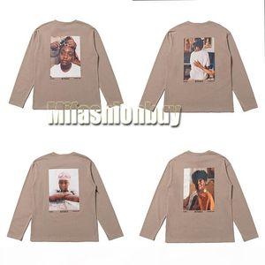 2020 Hip Hop Fear of God Fog 6th Vintage Photo Tee Skateboard Thin Hoodie Cool Tshirt FOG Men Women Cotton Long Sleeve Casual T Shirt