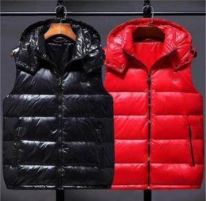 Venda Quente Baixo Preço Down Jacket Coletes Homens Mulheres Moda Com Capuz Colete High-end Bordado Logotipo Luxo Coletes Quentes e leves para baixo coletes