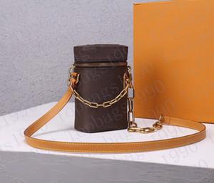 2021 Atacado cadeia balde saco marca de moda luxo bolsa de ombro designer bolsas de lona mini saco de corpo cruzado frete grátis