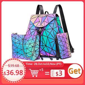 Lovevook women backpack schoolbag foldable crossbody bag