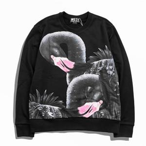 Diseñador para hombre de lujo T Shirts T Shirt T Shirt Flamingo Impresión Hip Hop Moda Hombres Mujeres Manga corta Tamaño S-XL 2020