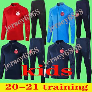 Kids 2020 21 Ajax كرة القدم التدريب البدلة سترة 20 21 بولو جبل منزل الكبار الفتيان رياضية