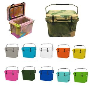 Sea shipping Solid Cooler Bag 20L Picnic Case Solid white Cooler Bag Insulated Food Carriers In Pink BLue Black