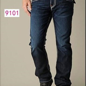 Fashion-Straight-leg 18SS New True Elastic Mens Robin Rock Revival jeans Crystal Studs Denim pants Designer Trousers Men's