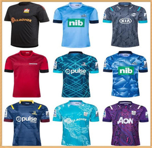 2020 Chefs Super Rugby Jersey 2021 Nouvelle-Zélande Super Chiefs Blues Hurricanes Croisaders Highlanders Rugby Jerseys